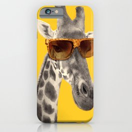 Funny girafe iPhone Case