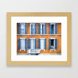 Look Through Any Window Framed Art Print