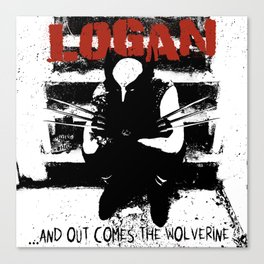 ...And Out Comes Logan Canvas Print