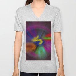 color circulo Unisex V-Neck