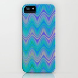 Agate Wave Lilac - Mineral Series 003 iPhone Case