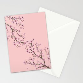 Cherry Blossom Branch Stationery Cards