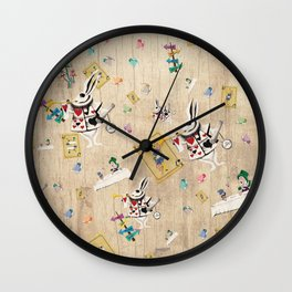 I'm Late I'm Late Wall Clock