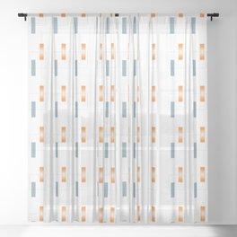 Semi Conductor Sheer Curtain
