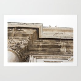 Italian secret Art Print