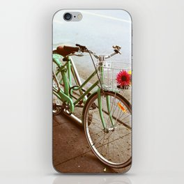 MINTY BIKE iPhone Skin