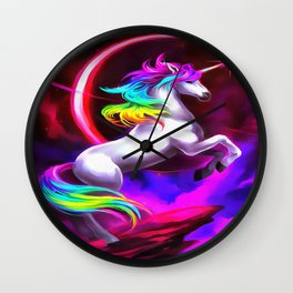 Unicorn Dream Wall Clock