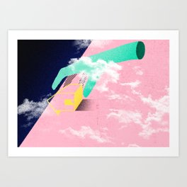 Brazil - A casa caiu Art Print