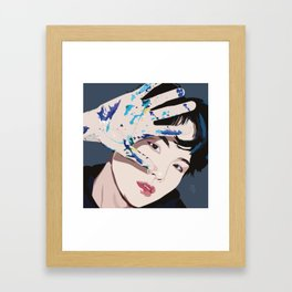 Suga Framed Art Print