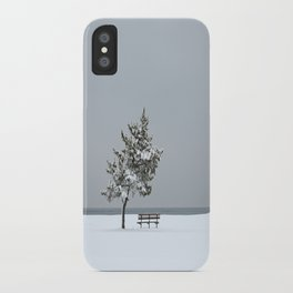 Lonesome Winter iPhone Case