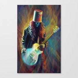Buckethead Canvas Print