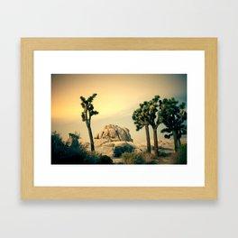 Movie Set Framed Art Print