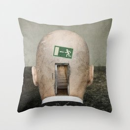 Seven Levels Throw Pillow
