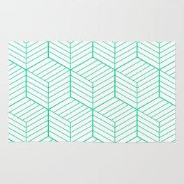 ZADA ((emerald green)) Rug