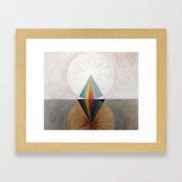 Hilma af Klint - Group IX/SUW No. 12, The Swan No. 12 Framed Art Print
