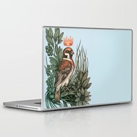rose gold Laptop & iPad Skins featuring Rose Gold by Awreon