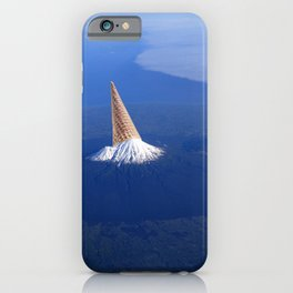 The 3 Second Rule - Ice-cream mountain iPhone Case