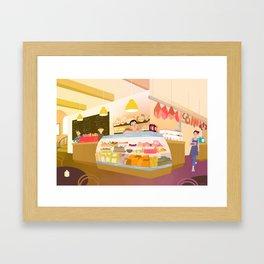 The Deli Framed Art Print