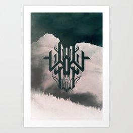 The Haunt Art Print