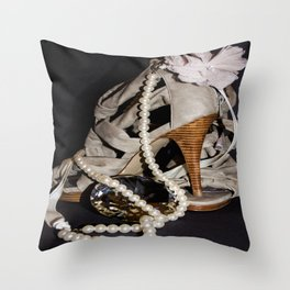 Pretty Shoes. Throw Pillow