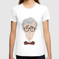 woody allen T-shirts featuring Woody Allen by Alexander Kuzmin