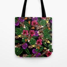 Tropical Koi Tote Bag