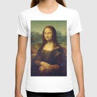 mona lisa T-shirts featuring Mona Lisa by TilenHrovatic