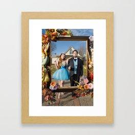 American Gothic Quinceañera Framed Art Print