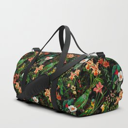 Vintage & Shabby Chic - Midnight Tropical Garden Duffle Bag