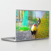 chicken Laptop & iPad Skins featuring chicken by aticnomar