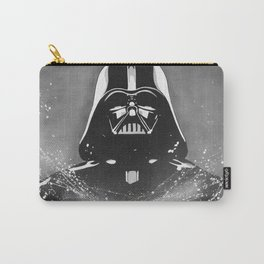 Black and White Dark  Carry-All Pouch