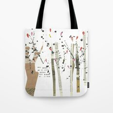 the last forest Tote Bag