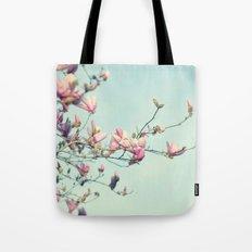 spring magnolia Tote Bag