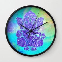Ganesha II Wall Clock