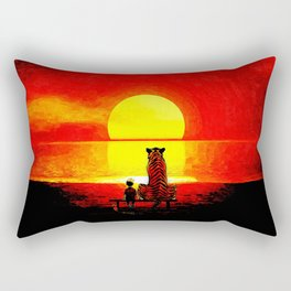 Calvin And Hobbes Rectangular Pillow