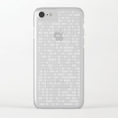 hacker Clear iPhone Case