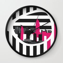 A world of your eyes Wall Clock