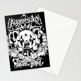 Red Panda Death Metal cutie Aggretsuko Stationery Cards