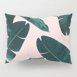 Banana Leaves - Cali Vibes #1 #tropical #decor #art #society6 Pillow Sham