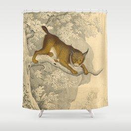 Wildcat Shower Curtain