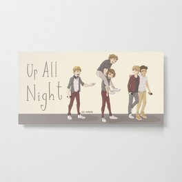 Up All Night Tour Metal Print