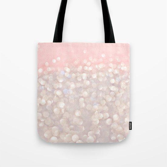 Pink Glitz Tote Bag