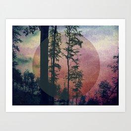 Bosco (Wood) Art Print