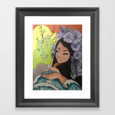 This Woman's Work Framed Art Print