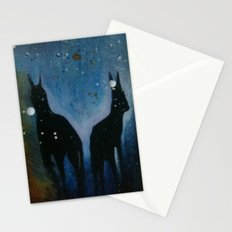 Into The Dark Stationery Cards