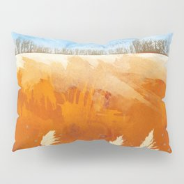 Golden Afternoon Pillow Sham