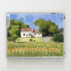 summer cottage Laptop & iPad Skin