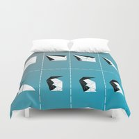 penguin Duvet Covers featuring PENGUIN by ARCHIGRAF