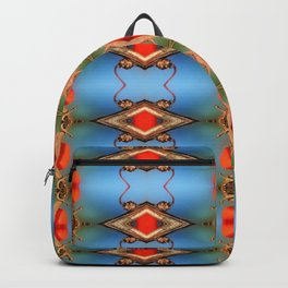 Ornamental Nature-pattern Backpack