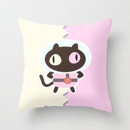 COOKIE CAT!!  Throw Pillow